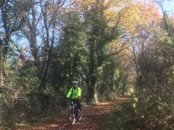 Boost for cyclists, walkers, equestrians and county's rural economy: £558,000 award for all-weather Downs Link surface