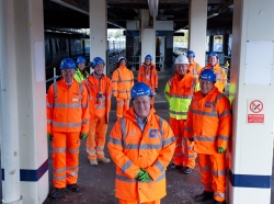 Construction of new station building takes off at Gatwick Airport