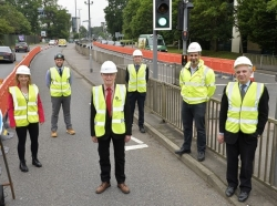 Construction starts in £8.85million project to help Crawley's economic growth