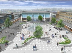 Crawley's Queens Square multi-million pound facelift starts soon