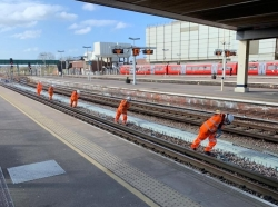 Gatwick Airport station transformation on target despite Covid-19 pandemic
