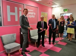 Henry Smith MP opens Coast to Capital's new office in Three Bridges