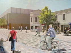 Improvement work to breathe new life into major town centre street will begin in the Spring