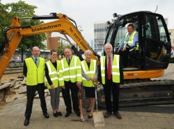 Major £3 million revamp of town centre starts