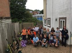 Team Work Provides New 'Garden' Haven!