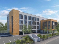 Work underway on new Shoreham office block